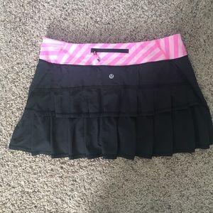 Lululemon athletic/ tennis ruffle skirt